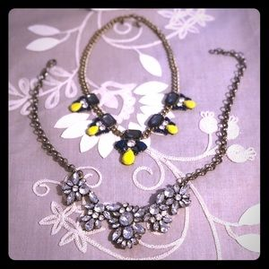 J. Crew Jewelry - 2 Jcrew statement necklace